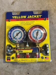 Yellow Jacket Test And Charging Manifold