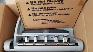Swingline Carstens 5 Hole Paper Punch 1805 00 74358