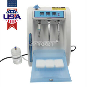 Automatic Dental Handpiece Maintenance Cleaner Lubrication System Device