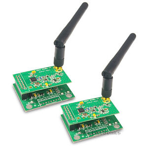 600m 20dbm Wireless Transparent Uart 2 4ghz 2pcs Nrf24l