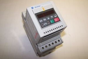 Allen Bradley 160s aa04nsf1 Variable Speed Controller Series C 0 75 Kw 1 Hp