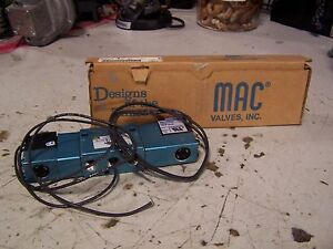 New Mac Valves Solenoid Valve 220 240 Vac 6 5 Watt 1 4 Ports 821c pm 121ca 152