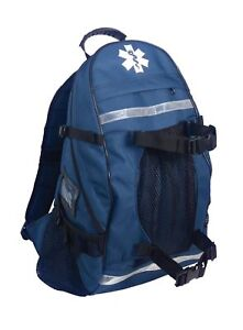 Arsenal 5243 First Responder Trauma Emt First Aid Backpack Blue New