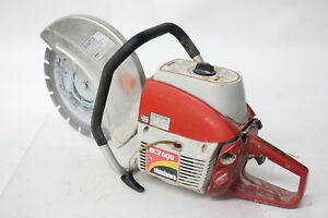 Shindaiwa Ec7600 14 Professional Concrete Cut off Saw 73 5cc W Blade tested