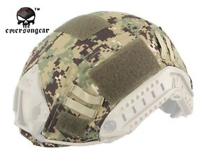 EMERSON Tactical FAST Helmet COVER Combat Gear Airsoft Multicam Camo EM8825 AOR2