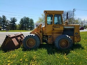 1980 John Deere 544b Wheel Loader Full Cab Nice Rubber