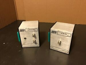 Thornton Type 418 Eeg Amplifier And Type 412 Respiration Monitor 1 Ch