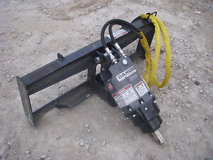 Bobcat Skid Steer Attachment Danuser Ep 10 Hex Auger Drive Unit Ship 199