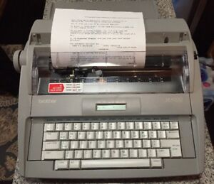 Brother Sx 4000 Electronic Typewriter Tested Working Great Model