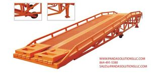 Moveable Dock Ramp Pdcq h Series Yard Ramp Forklift Ramp trailer Ramp 13200lbs