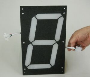 Large 7 segment Led Digit 10 Tall