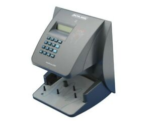 Recognition Systems Biometric Handpunch Time Recorders no Software 100 Capacity