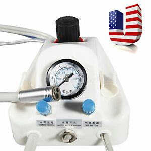 Us 4h Portable Dental Air Turbine Unit Work With Compressor Handpiece Hot Yysz