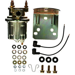 Carter Electric Inline Fuel Pump P4389 Marine 4 6 Psi 72 Gph Marine Approved