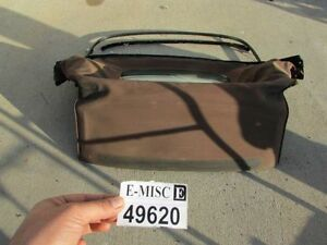 2006 2008 Mazda Miata Mx 5 Convertible Soft Roof Top Frame Assembly Back Glass