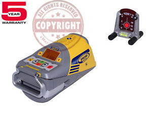 New Spectra Precision Dg613 Red Beam Pipe Laser Level Dialgrade trimble topcon