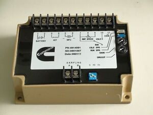 New Engine Speed Controller Governor 4914091 For Cummins Generator Parts