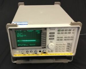 Hp Agilent 8563e Spectrum Analyzer 30hz 26 5ghz With 85620a Mass Memory Module