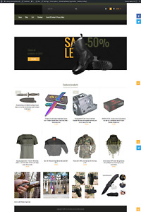Military Amazon Turnkey Website Blog For Sale
