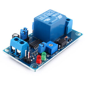 New 10pcs 12v Dc Delay Relay Delay Turn Off Switch Module With Adjustable T