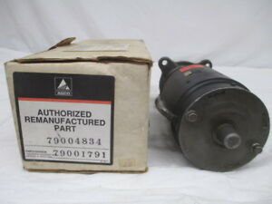 Agco Reman Starter For Gleaner A B F Allis 230 262 Engines 79004834