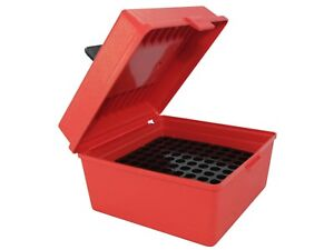 MTM Deluxe Flip-Top Ammo Box with Handle Plastic R-100-30