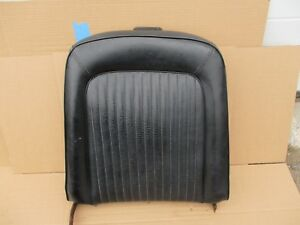 1969 1970 Ford Mustang Cougar Seats Rh Upper Seat Black Missing Headrest Oem