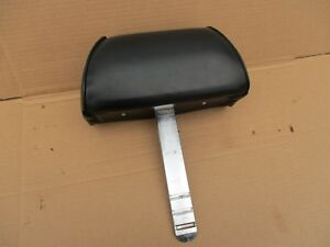 1969 1970 Ford Mustang Cougar Seats Seat Headrest Black No Rips Or Tears Oem