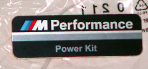 Bmw F10 F11 F20 F30 M Performance Power Kit Stick On Label Decal Brand New