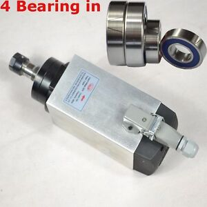 3kw Four Bearing Air cooled Spindle Motor Engraving Milling Grind Square Motor