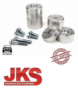 Jks Front Adjustable Bump Stop Spacer Kit 07 18 Jeep Wrangler Jk Jku 1100
