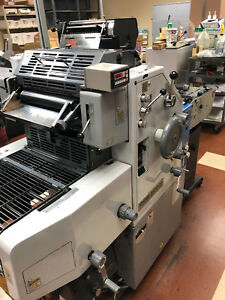Ryobi 2800cd Offset Printing Press T 51 Townsend Head Astro Conveyer