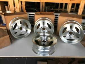 1979 84 Mustang Trx Wheels Nos Still In Ford Box Set Of Four
