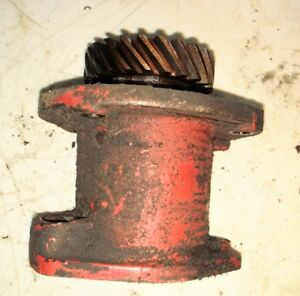Farmall H Early Sh Tractor Ihc Engine Motor Distributor Drive Assembly Part W4