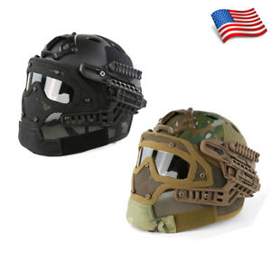 Multi-function All-round Tactical Airsoft Fast Helmet G4 System Protective