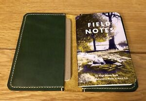 Horween Sunflower Cavalier Field Notes Leather Cover Handmade Us