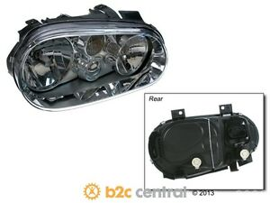 Tyc Headlight Assembly Fits 1999 2002 Volkswagen Cabrio golf Fbs