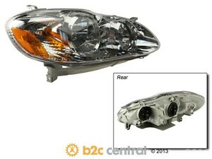 Tyc Headlight Assembly Fits 2004 2007 Toyota Corolla Fbs