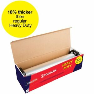 Ultra thick Heavy Duty Household Aluminum Foil Roll 12 X 300 Square Foot