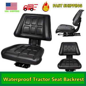 Tractor Seat Backrest Excavator Chair Chair Track Compact Mower Seat Waterproof