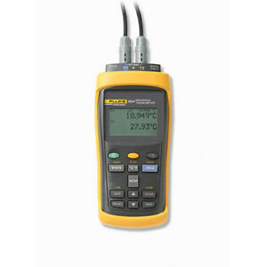 Fluke 1524 p4 156 2 Channel Reference Thermometer Kit 5615 12 p Prt