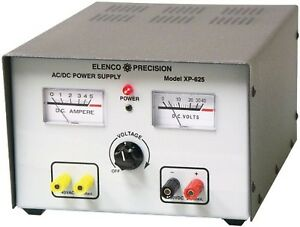 Elenco Xp 625 Ac dc Power Supply