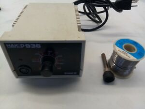 Hakko 936 Soldering Station Controller 24v With Accessories