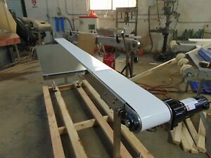 New Ss Conveyor 8 X 6 table Top Sanitary Belt stainless Steel