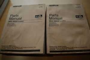 Cat Caterpillar 992g Wheel Loader Parts Manual Book Catalog Front End List Spare