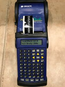 Brady Handimark Label Maker With Battery Pack Extras
