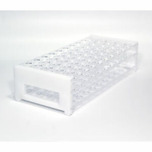 Fountain Pen Ink Sample Vial Rack Plastic Holds 50 Sample Vials