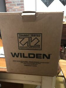 Wilden 1 2 01 2654 Double Diaphragm Pump Teflon poly Brand New Never Opened