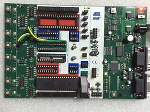Atmel Atstk500 Starter Kit Rs232 For Avr