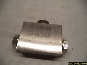 Ctx16 Autoclave Engineers Tee Fitting Parker Mawp 20 000 Psi 316 Ss Stainless